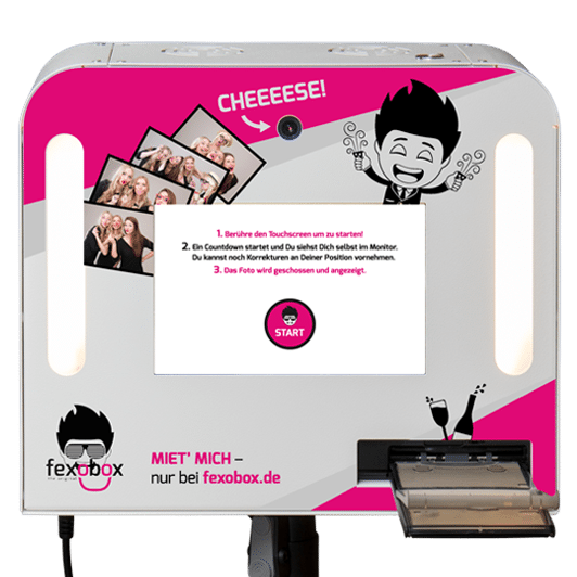 Fotobox Mieten Aktionspreis All Inkl Nur 239 Fexobox